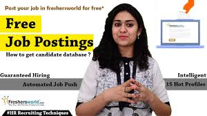 Free Job Portals To Search Resumes In India Free Unlimited Job Posting Myths about free job posting portals 84