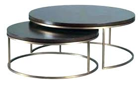 round nesting side tables coffee table nest round nesting tables marble top with brass frame set