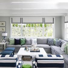 Green And White Living Room Ideas