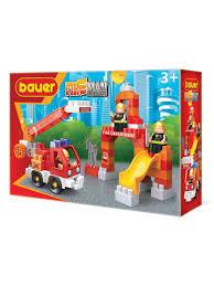 "<b>Конструктор</b> ""<b>Fireman</b>"" набор <b>пожарная</b> машина и ..."