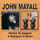 Notice to Appear/A Banquet in Blues