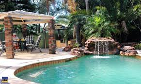 inground pools with waterfalls. Brilliant Waterfalls Inground Pool Waterfalls Oasis Rock Swimming Waterfall Grotto Kit Cost In Pools With A