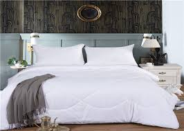 comfortable hotel collection duvet set single or double size 60s 200 220gsm