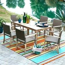 outdoor patio rugs large all weather mats carpets and red front porch extra round