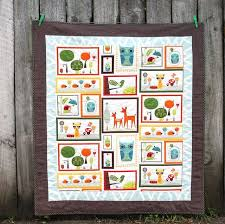 17 best Craft panel quilts images on Pinterest | Quilt patterns ... & baby quilt by hazelnuts using critter community fabric panel ( http://www. Adamdwight.com