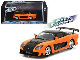 mazda rx7 fast and furious. 1997 mazda rx7 fast and furious tokyo drift movie 2006 143 diecast model car greenlight 86212 rx7 7