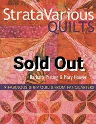 Strata Various Quilts by Barbara Persing & Mary Hoover -Book DISCONTIN & Strata Various Quilts by Barbara Persing & Mary Hoover -Book DISCONTINUED Adamdwight.com