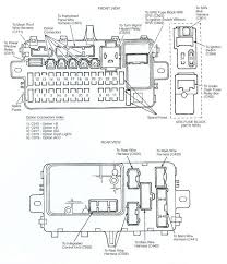honda civic fuse box diagram honda wiring diagrams