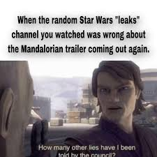 It's where your interests connect you with your people. 22 Star Wars Memes To Cue Up With The Mandalorian Season 2 Funny Gallery