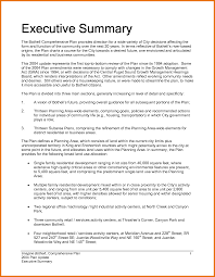 executive summary format for project report ummary executive summary template example business templates