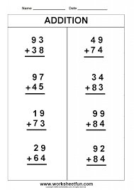 Grade First Grade Math Activities Addition And Subtraction ...