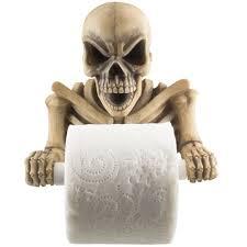 Skull Bathroom Decor Halloween Bathroom Accessories