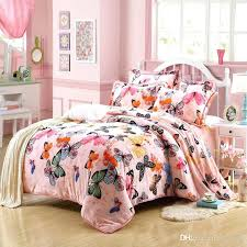 winter bedding set soft thickening flannel warm beautiful luxury full sheet duvet cover sets erfly roses