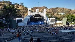Hollywood Bowl Section J2 Row 21