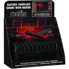 duraflame 20 inch electric log set fireplace insert dfi020aru perschoicecom