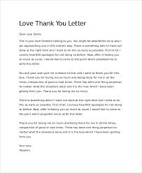 22+ Sample Thank You Letters | Sample Templates