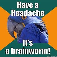 Image result for worm brain gifs