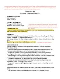 Whats A Resume Look Like What Does A Cover Letter Look Like For A Resume Resume Templates 19