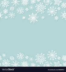 Christmas Snowflakes Pictures Simple Christmas Background With Snowflakes
