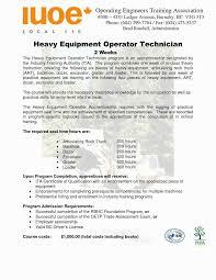 9 10 Excavator Operator Resume Soft 555com