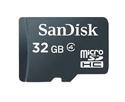 Sandisk 32gb Microsdhc Card Sdsdq 032g A11m