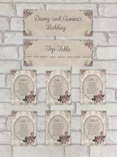 Wedding Table Planner Ebay