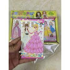 Combo 27 xấp hình dán công chúa (1hop)
