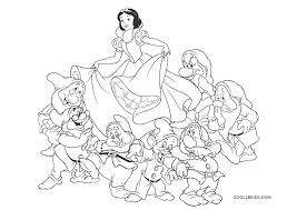 Print or download for free! Free Printable Snow White Coloring Pages For Kids