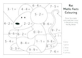 Christmas Math Coloring Worksheets 5th Grade Creativeinfotechinfo