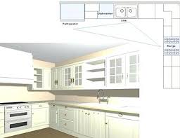 One Wall Kitchen Designs With An Island Plans Best Inspiration Design