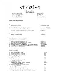 Simple Resume Exampleprin Resumes Resume How To Maker Online Write Objective In For 6