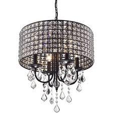 glam lighting. lyndon 4light crystal chandelier glam lighting