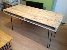 pallet furniture desk. pallet computer table and office desk furniture diy