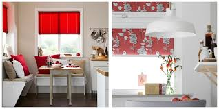Red Roller Blinds Kitchen Apollo Blinds Blog