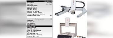 user friendly janome robots feature multilingual teaching pendant displays