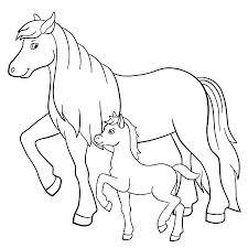 Kleurplaat Paard A A Kleur A Kleur Shshiinfo
