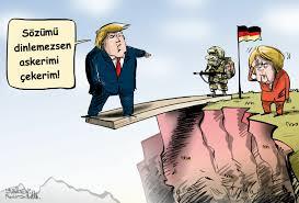 Alman Savunma Bakanı: ABD askeri ABD'nin güvenliğinin garantisi için de  buradalar - Sputnik Türkiye