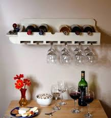 wall mounted wine glass holder rack plans uk