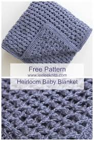 Free Crochet Blanket Patterns Impressive Free Heirloom Baby Blanket Crochet Pattern Crochet Pinterest
