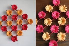 Hanging Paper Flower Backdrop 004 Diy Tissue Paper Floral Backdrop Flower Wall Decoration Ideas