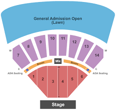 Cricket Amphitheatre Seating Chart Discount Cricket Wireless Amphitheater Ks Formerly