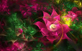 3d Flower Hq Desktop Wallpaper - 3d ...