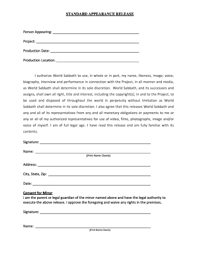 20 Printable Video Interview Release Form Templates