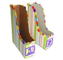 Magazine Holder From Cereal Box Make It Ruby DIY All Buttoned Up Magazine Holders GirlMogul 31