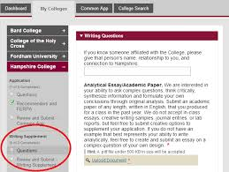 college admission essay questions the writing center college admission essay questions