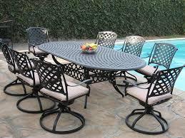 amazoncom patio furniture. Amazon.com: Cast Aluminum Outdoor Patio Furniture 9 Piece Expandable Dining Set DS-09KLSS260180T All Swivel Rockers CBM1290: Garden \u0026 Amazoncom P