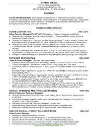 Valuable Cosmetics Business Manager Resume Cosmetic Manager Resume