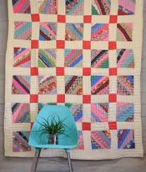 Cotton Candy Quilts: Using Feedsacks, Vintage and Reproduction ... & Vintage Geometric Quilt Bright Colors Diagonal by KOLORIZE, $185.00 Adamdwight.com