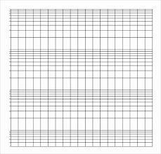 Graph Paper Template Pdf Awesome Sample Semilog Graph Paper