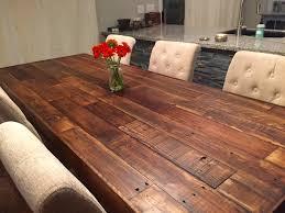 custom reclaimed wood farm dining table walnut farmhouse kitchen table reclaimed wood